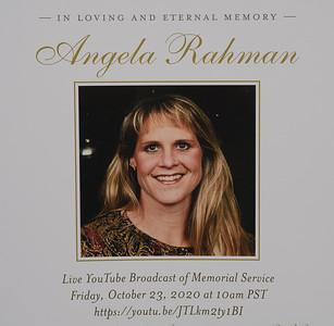 Angela Rahman's Funeral
