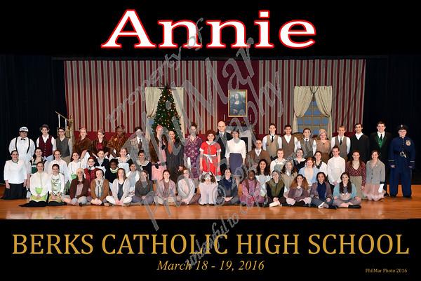 Annie Cast Photo
