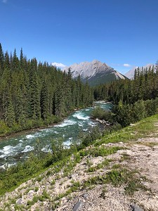 Cycling the Canadian Rockies