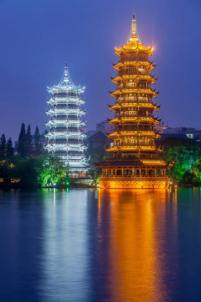 Moon and Sun Pagodas