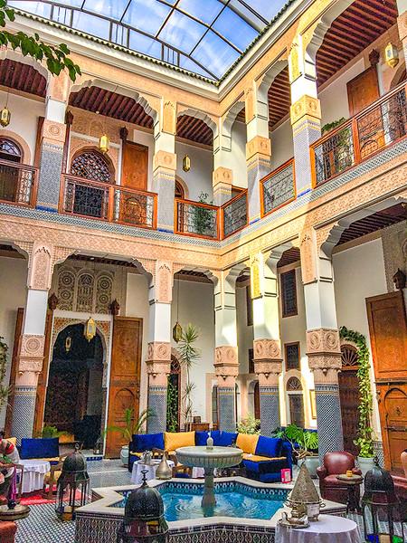 北非調色盤 摩洛哥住宿篇 Riad和Dar到底差異是什麼 by Wilhelm Chang 張威廉