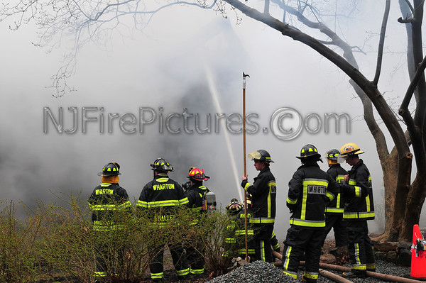 Mine Hill, NJ House Fire on 5th Ave. March 30,2010