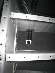 Bagage area & Com antennas
