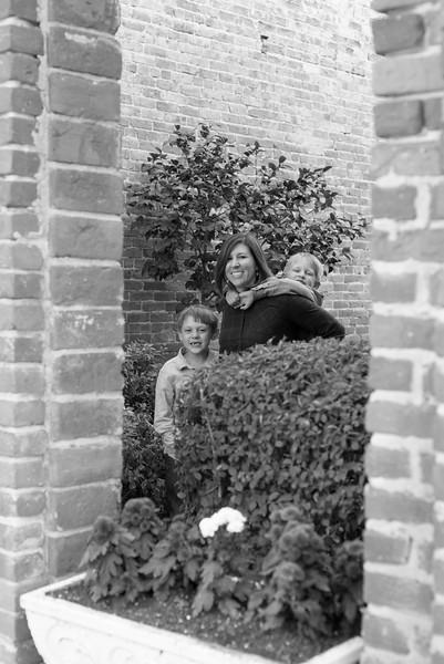 Liz and her boys