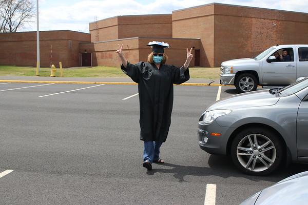 Colin and Natasha Graduation