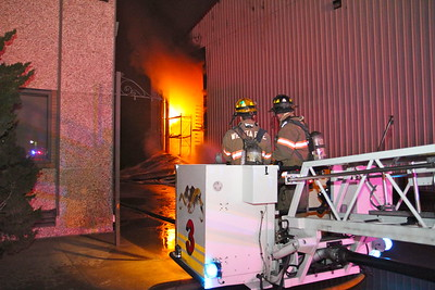 2 Alarm Building Fire 830 N. Wabash (2/16/12)