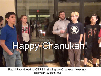 Sharing the Light - Happy Chanukah from the OT family!