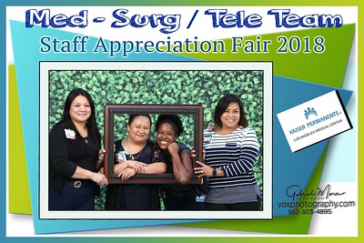 091118- Kaiser Permanente  Med-Surg/Tele Team Staff Appreciation 2018