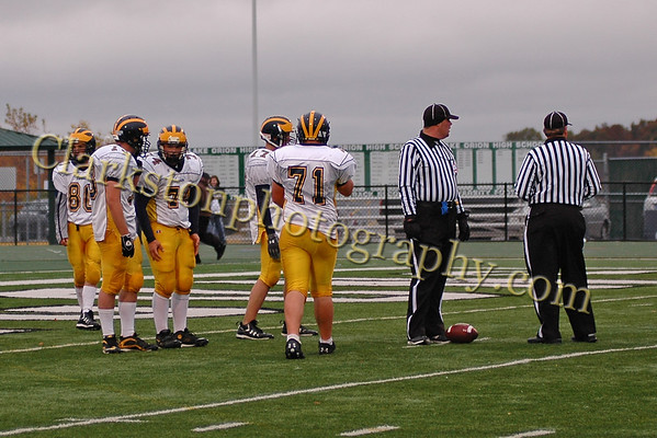 Clarkston Freshman Football vs Lake Orion