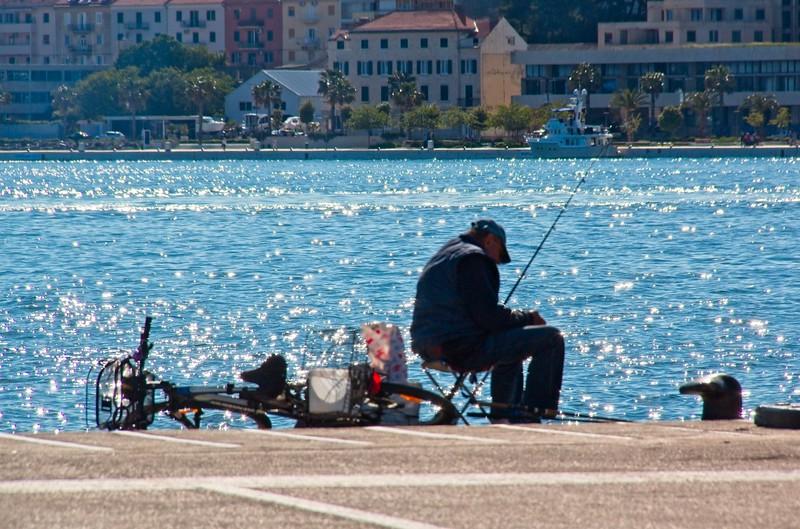 Fisherman, Split, Croatia