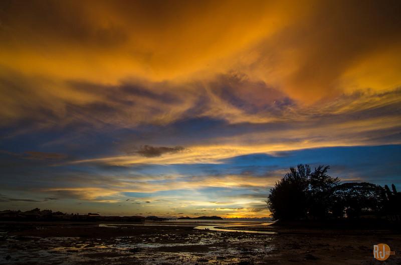 May 29, 2014 Sunset Kota Kinabalu, Sabah, Borneo