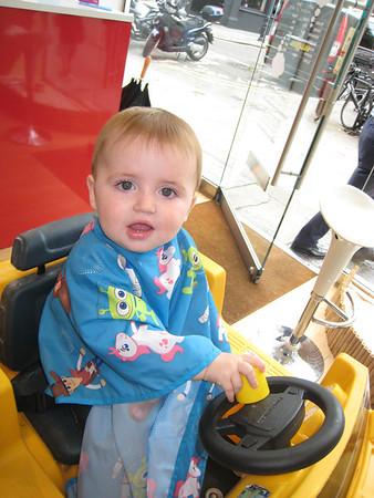 20120815 Nathan's first hair cut