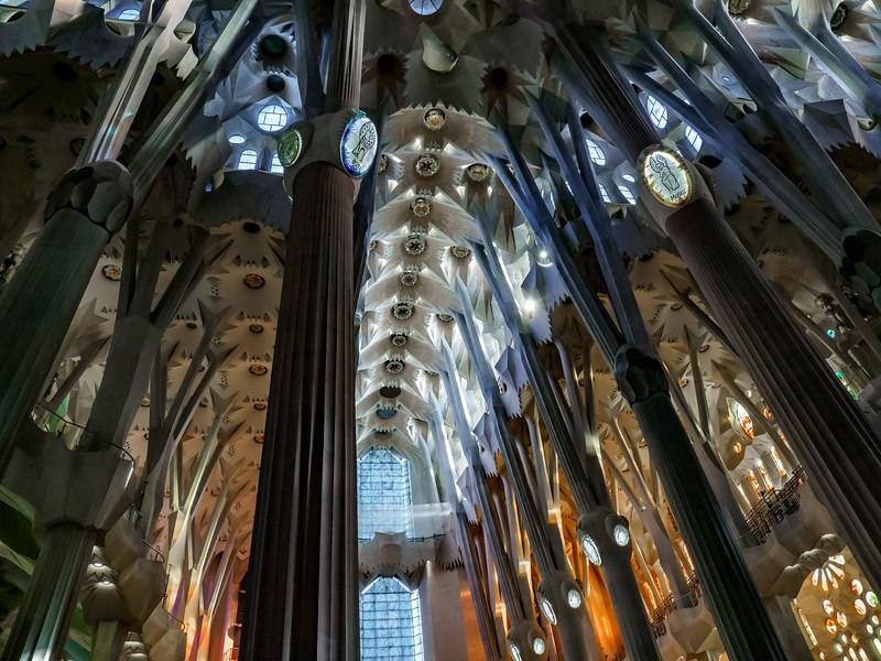 Sagrada Familia: Interior