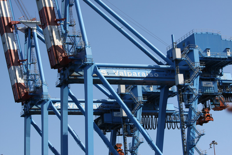 unloader for container ships