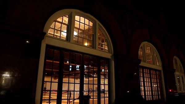 Arch Window Building NYC