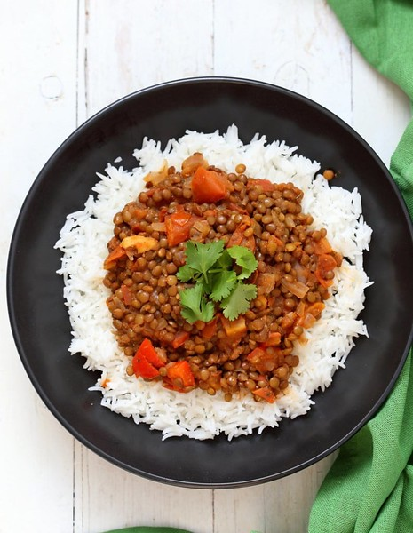Masala Lentils - Vegan Richa's Indian Kitchen