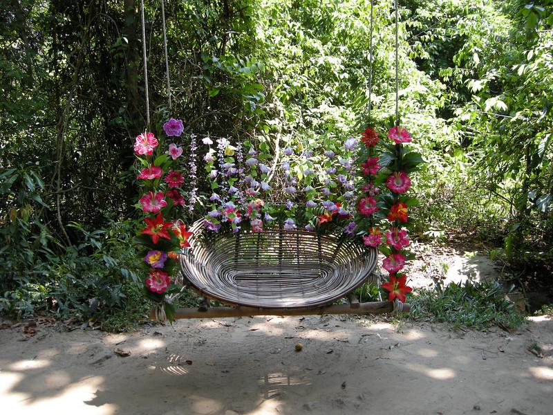 Fabulous jungle chair, Phnom Kulen National Park: Siem Reap