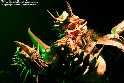 GWAR <br> October 21, 2011 <br> The Palladium - Wortcester, MA <br> Photos by: Jamie Ivins