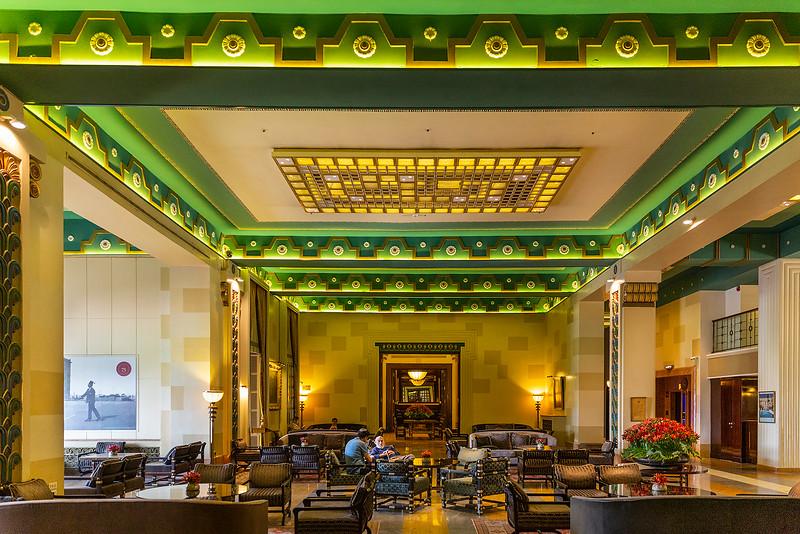 Lobby of King David Hotel