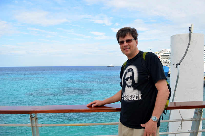 Arrival in Cozumel for excursion.