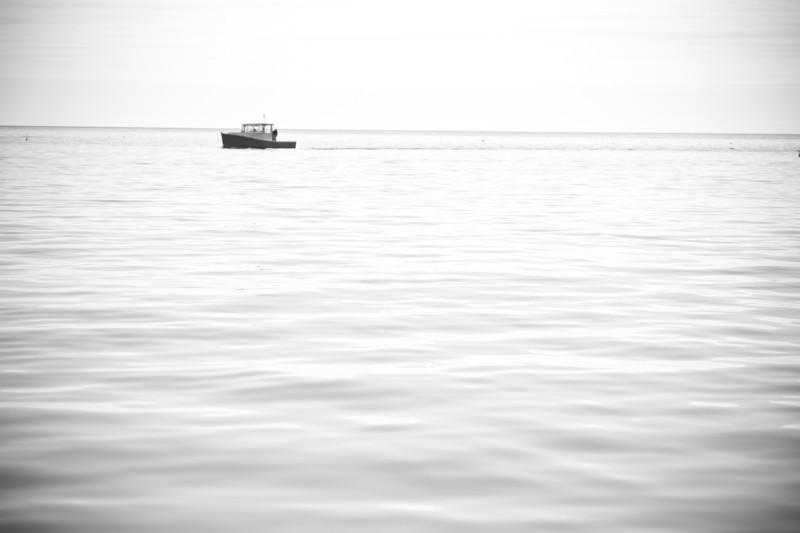 34. Lobster Boat at sea.