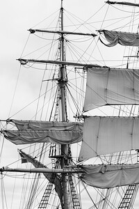 Two masters sailing ship