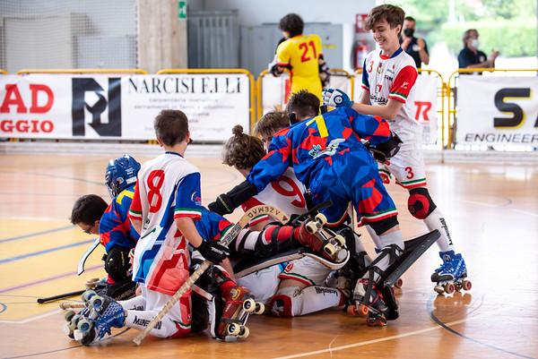 Finale 3°/4° posto: Correggio Hockey vs Hockey Bassano 1954