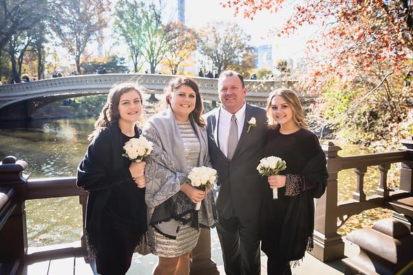 Central Park Wedding - Joyce & William