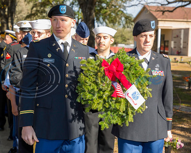 Wreaths Across America - Remembering Veterans by Don Spivey
