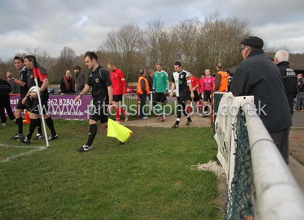 Winchester City 2 Bemerton Heath Harlequins 2 - Wessex League - 7/1/12