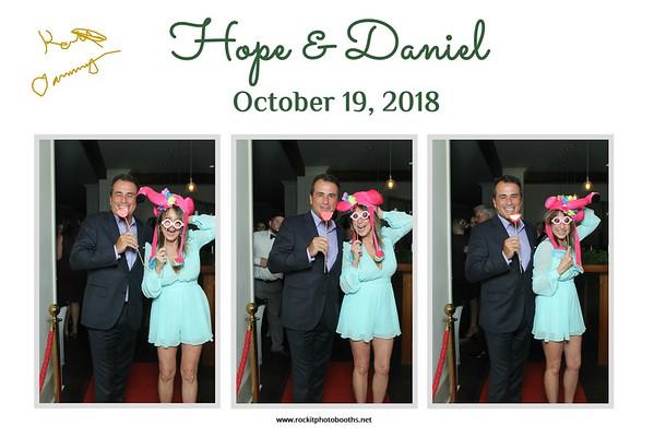 Hope & Daniel October 19, 2018