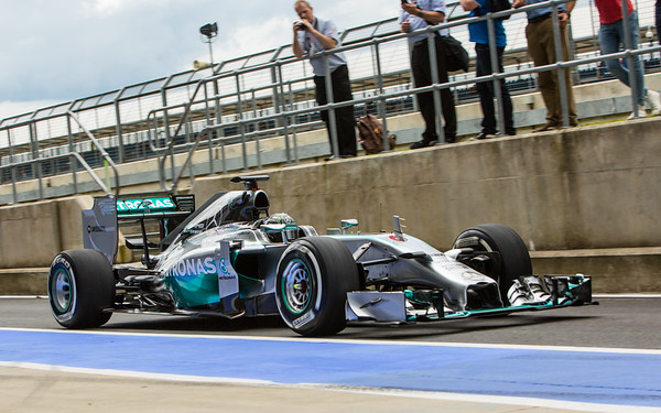 F1 Testing 2014