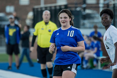 2019 JV Girls Soccer vs South Palding - Makenzie Cochran