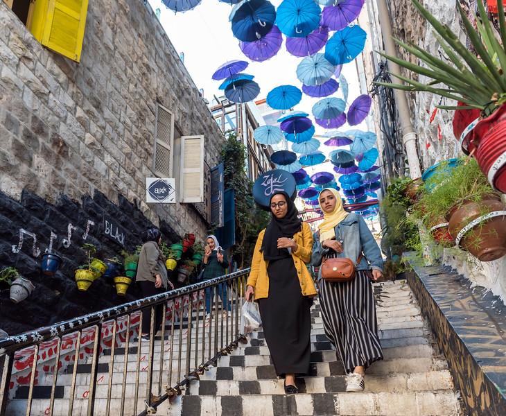 Umbrella Stairs, Amman