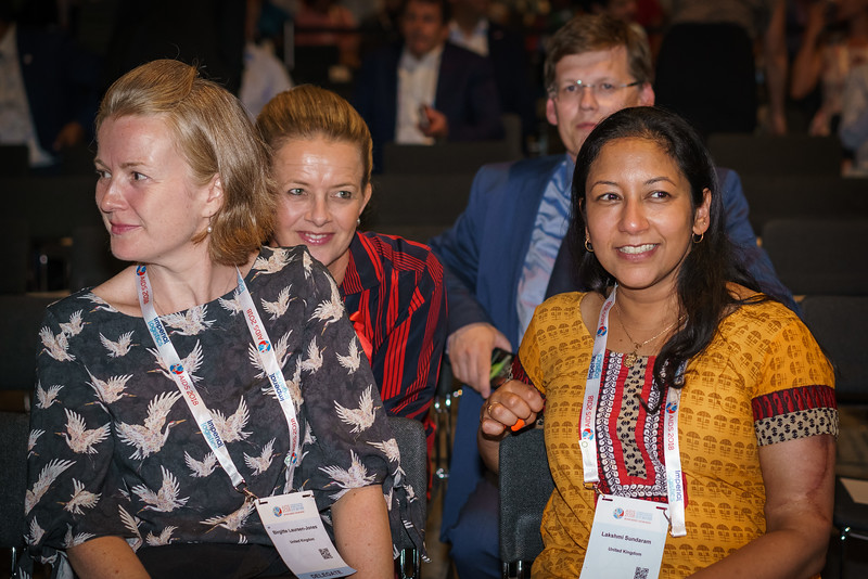 22nd International AIDS Conference (AIDS 2018) Amsterdam, Netherlands.   Copyright: Matthijs Immink/IAS  Opening ceremony  Photo shows:  Prinses Mabel van Oranje