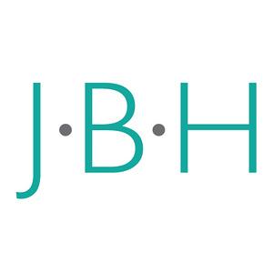 JBH logo aqua drk outlines