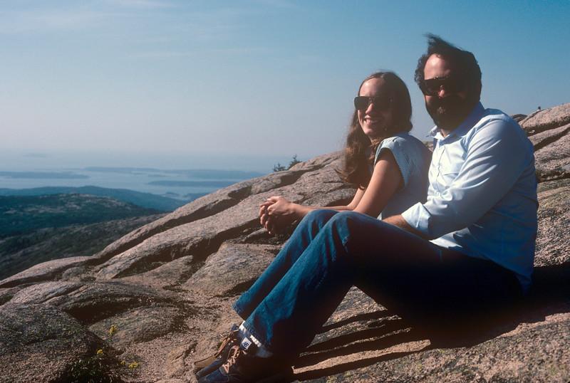 1982-09 Mt. Desert Island ME Chris & John.jpg