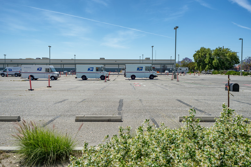 The old Goodyear plant on Central Avenue is now a sprawling U.S. Postal Service facility.