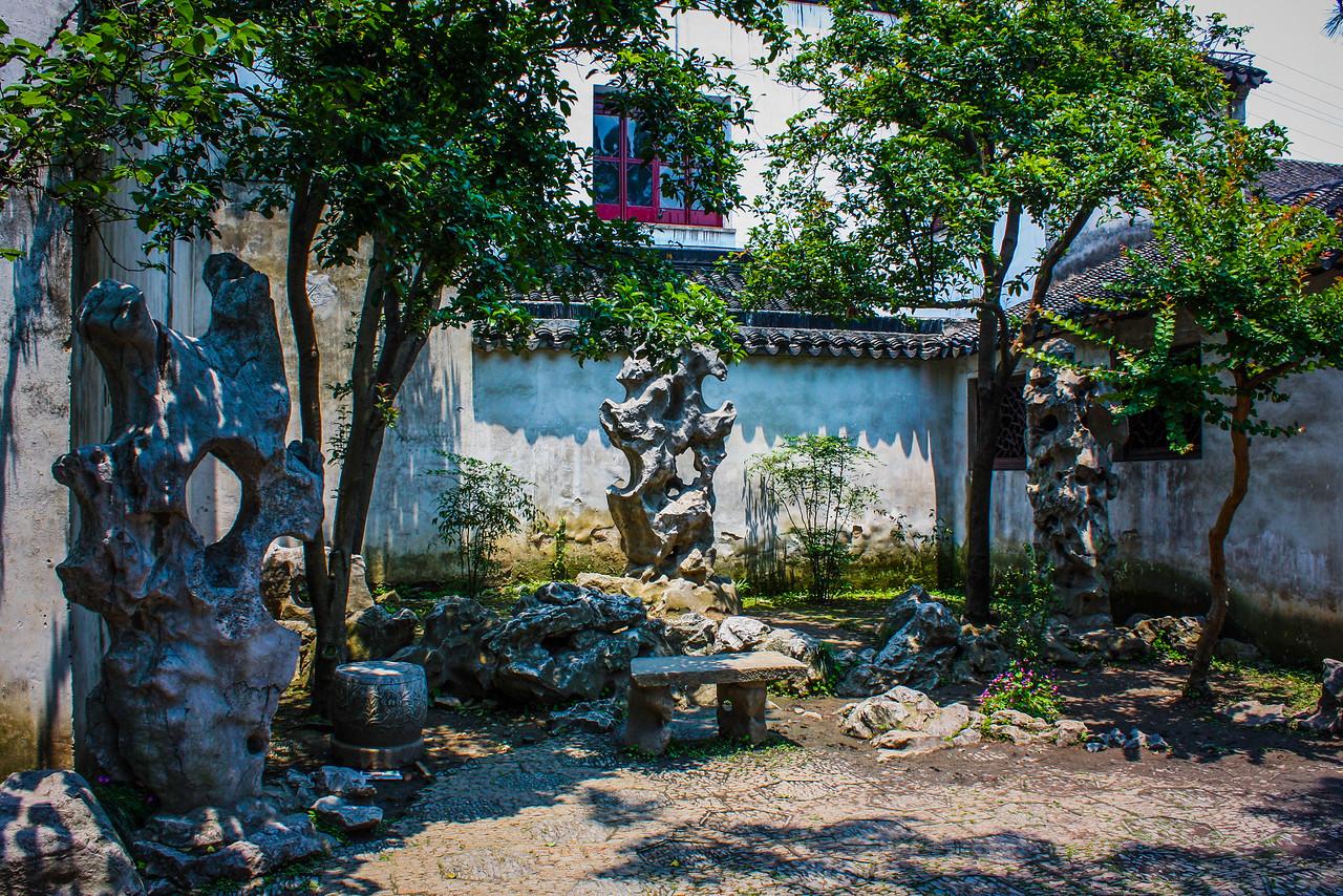 苏州藕园,亭台楼阁