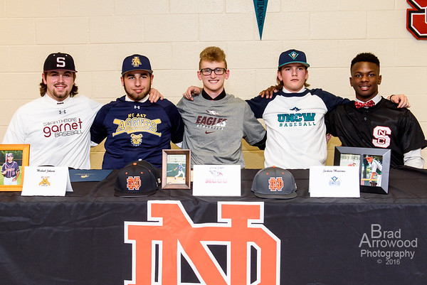 ND Baseball - SIgning Day 2016