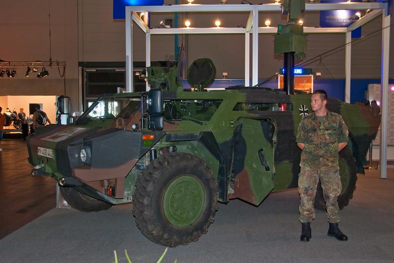 German Army at GamesCom