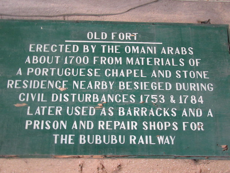 039_Zanzibar Stone Town. The Arab Fort. 1699.JPG