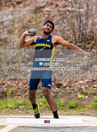 5/10/2017 - Boys Varsity Track & Field - Framinghm vs Needham