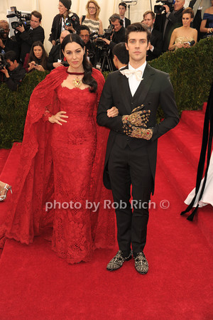 Monica Bellucci and  Roberto Bolle photo by Rob Rich © 2014 robwayne1@aol.com 516-676-3939
