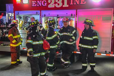 3-8-19 Mutual Aid Structure Fire, Garrison