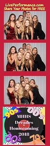 10/13/18 Mission Hills Homecoming Dance - Photo Booth PhotoStrips