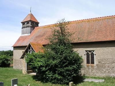 St Luke, Church of England, Behind a Farmyard, Garford, OX13 5PB