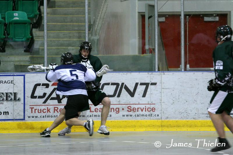 Okotoks Ice vs Calgary Rockies May 14, 2008