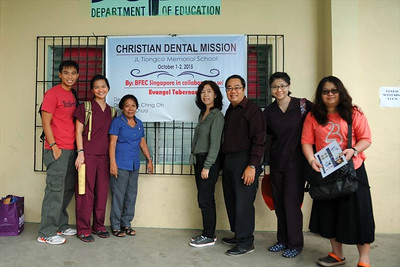 BFEC Dental Mission to Iloilo City, 1-5 Oct 2015