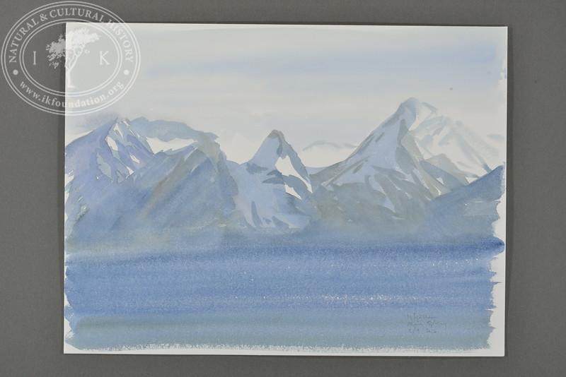 Isfjällen, Svalbard | 5.9.2016 | Måns Sjöberg.